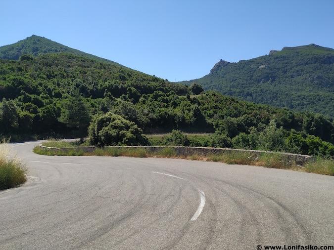 ruta en coche por cabo corso en corcega
