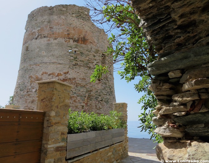 torre genovesa erbalunga córcega