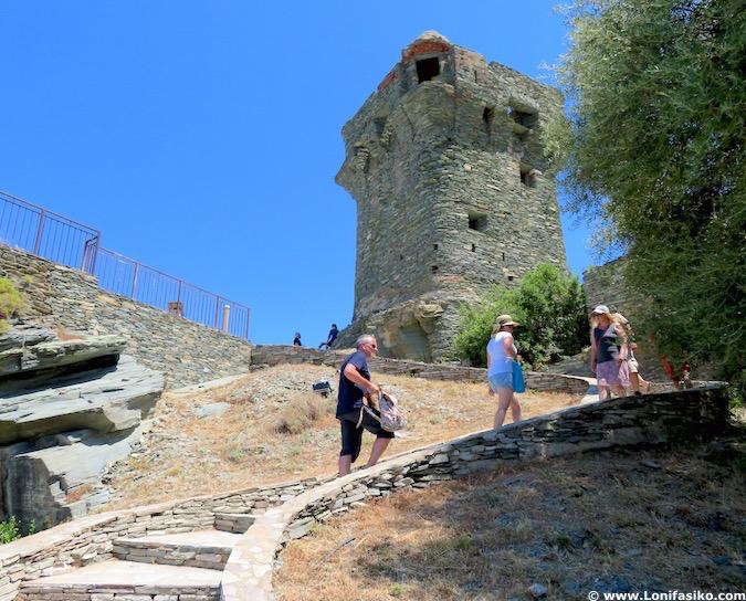 Torre de Nonza fotos cap corse córcega