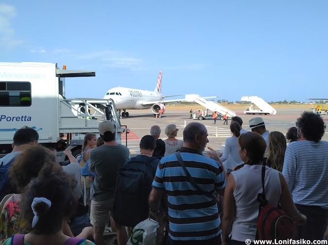 vuelos baratos a Córcega (Bastia) con Volotea