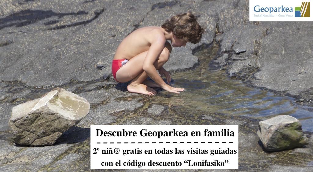 Geoparkea con niños