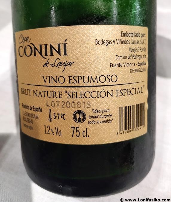 Cepa Coniní Laujar vinos de Almería