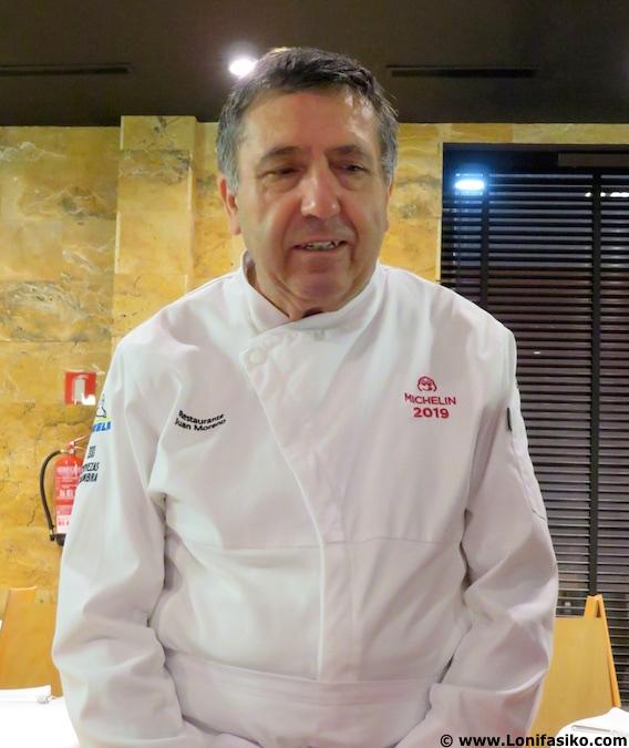 fotos Chef Juan Moreno, cocinero restaurante en Vera (Almería)