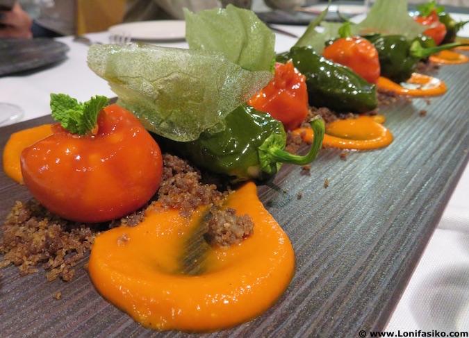restaurante juan moreno vera almería menú degustación