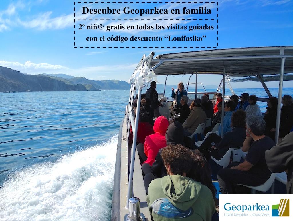 Descubre Geoparkea en familia