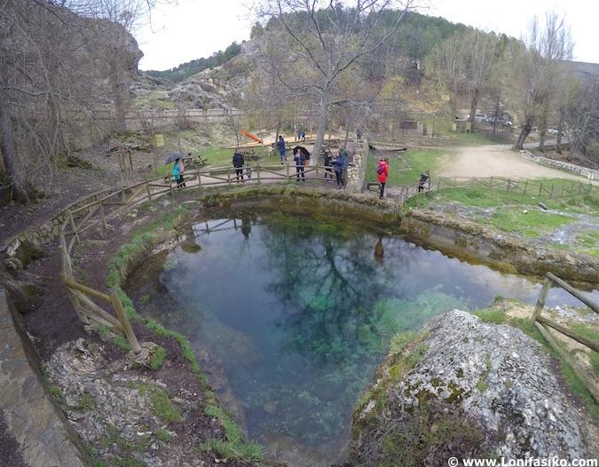 Nacimiento del río Segura fotos