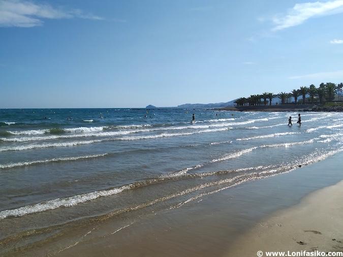 Playa del Morrongo Benicarló Castellón