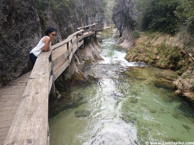 Ruta del rio Borosa Cerrada de Elias Cazorla