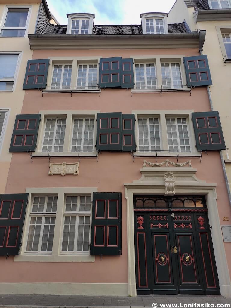 Beethoven-haus Bonn: museo entradas