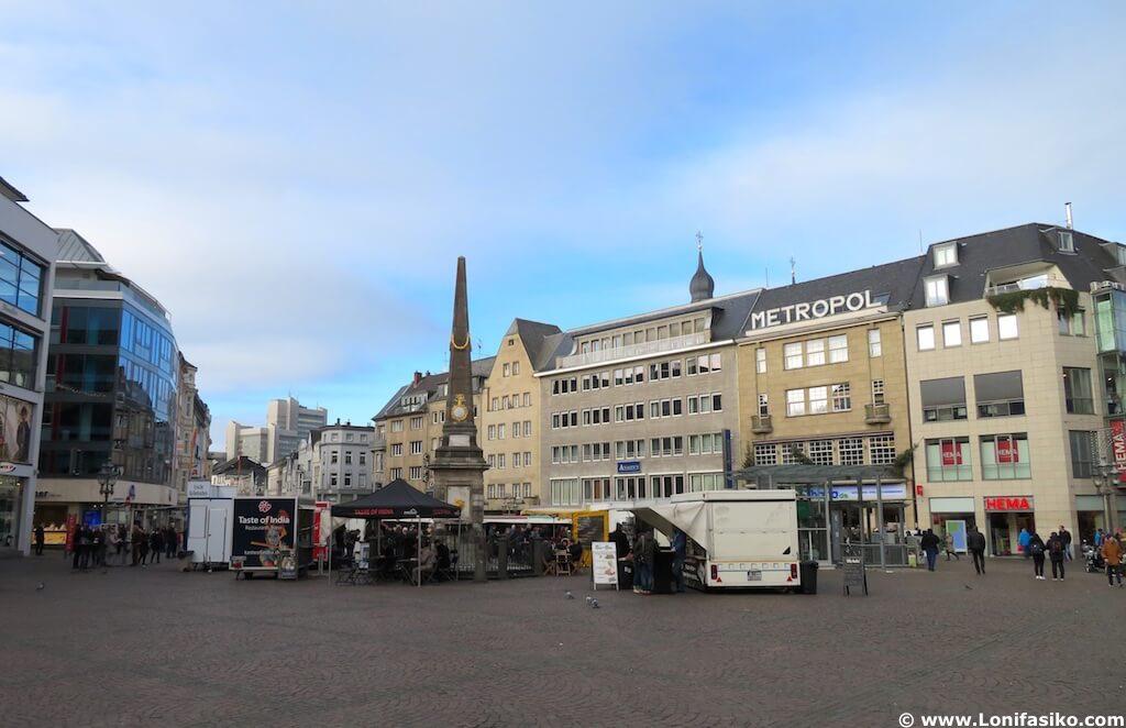 Marktplatz Bonn Alemania