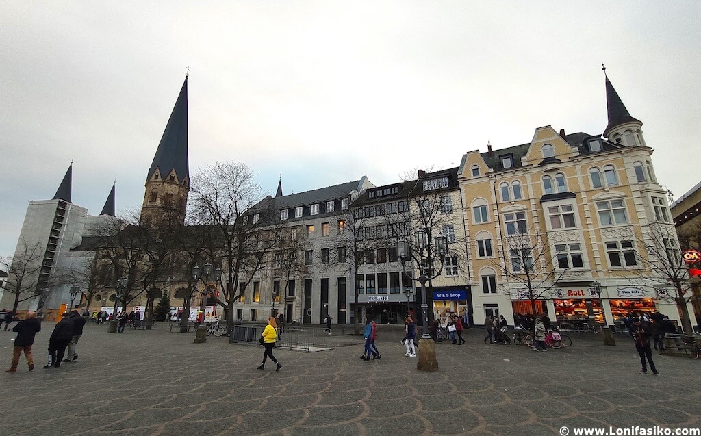 Münsterplatz bonn alemania plazas