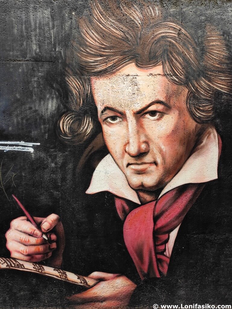 Mural de Beethoven en Bonn