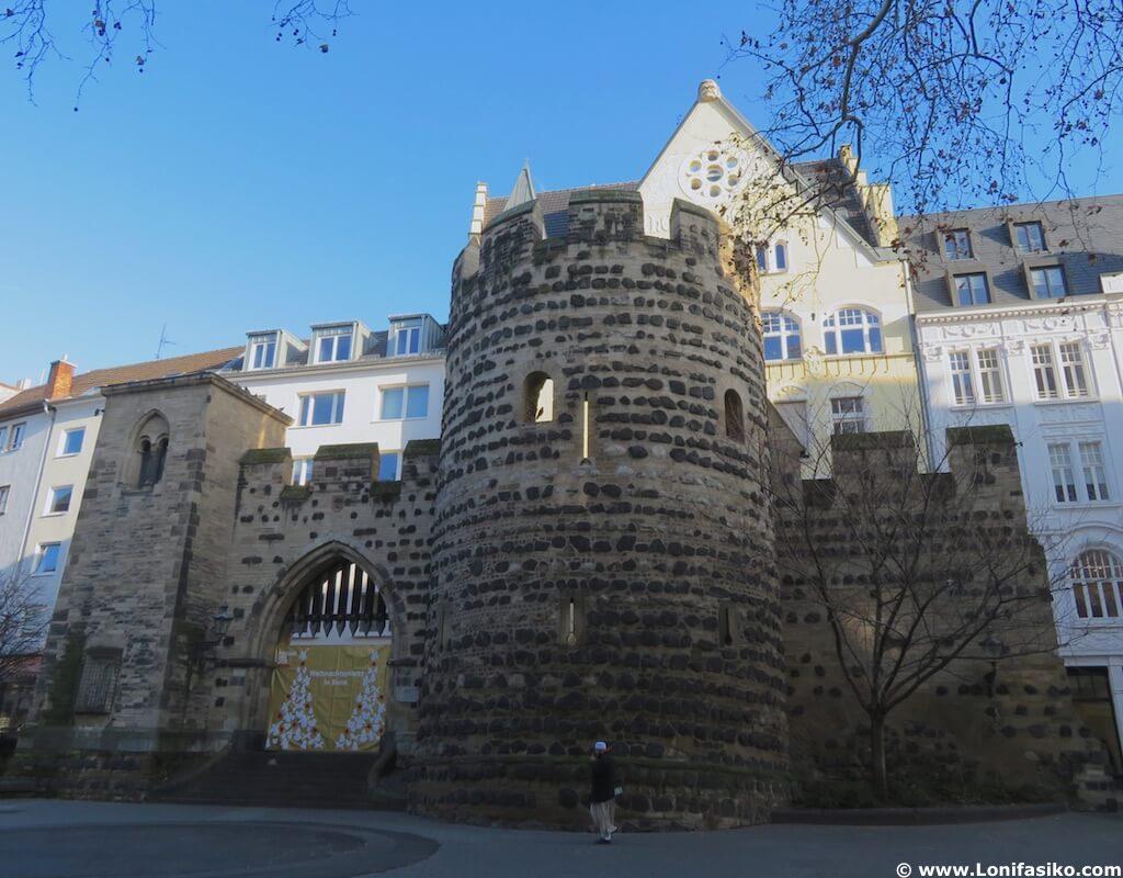sterntor bonn altstadt puerta estrella medieval