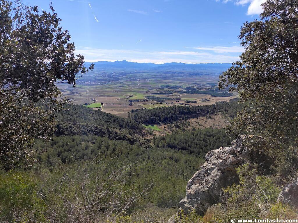 Balcón de La Rioja en Montes Obarenes