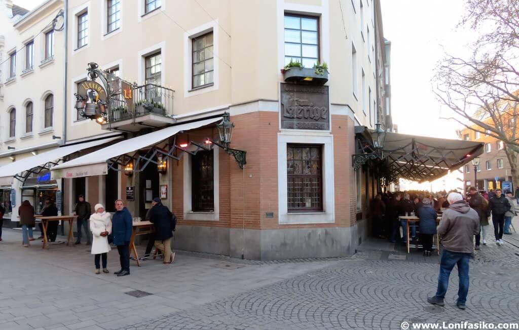 Cervecería Uerige en Düsseldorf Altstadt