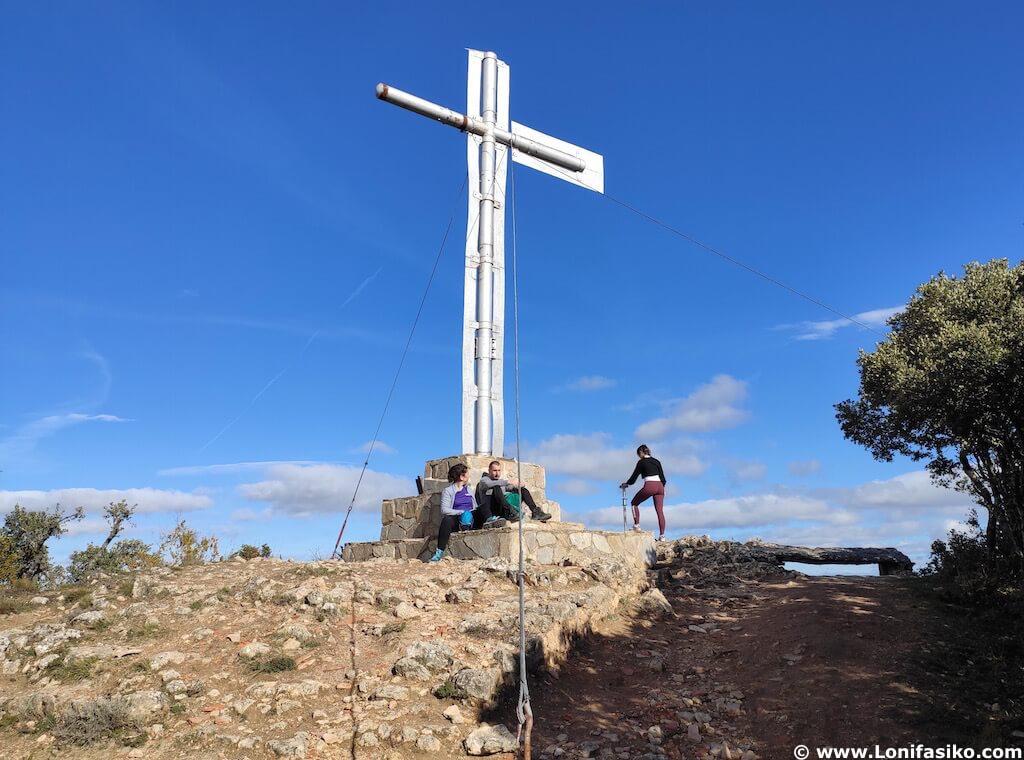 Cruz de Motrico fotos cima Montes Obarenes