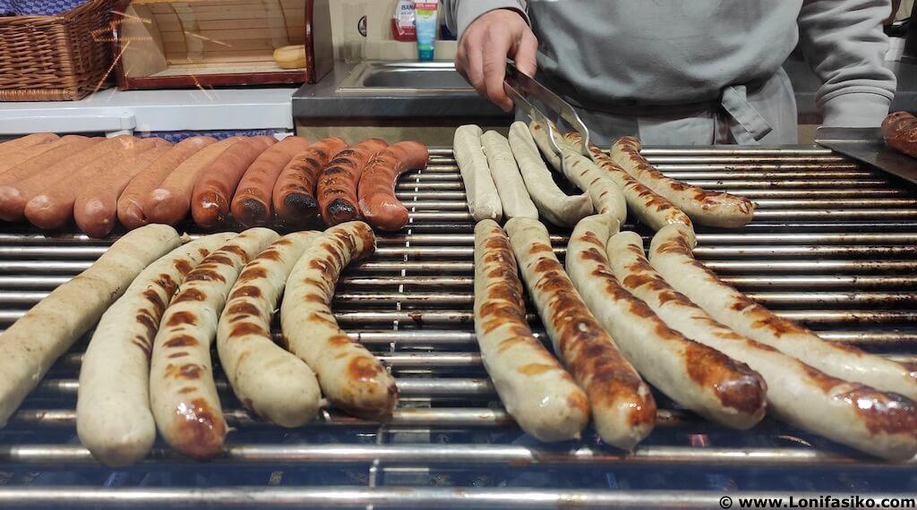 Fotos de salchichas en Alemania