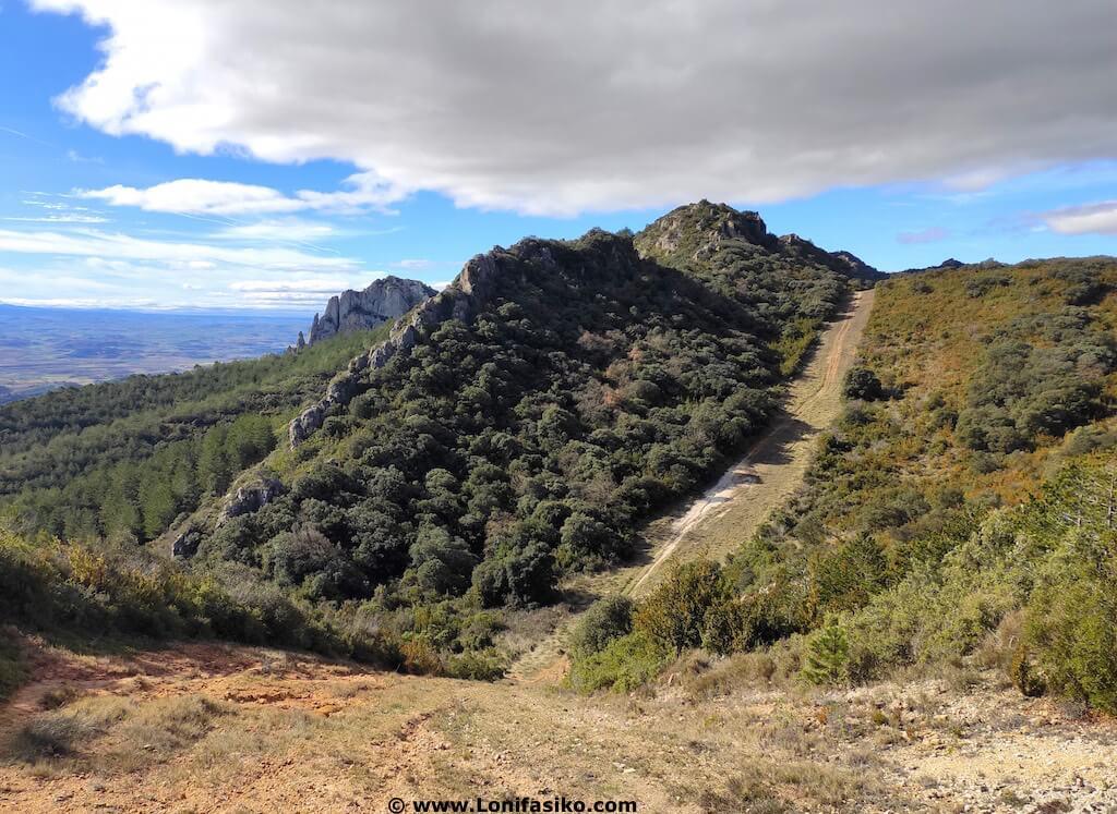 Fotos de Montes Obarenes cortafuegos