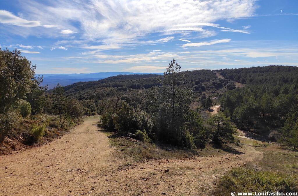 Monte Cruz de Motrico en Montes Obarenes