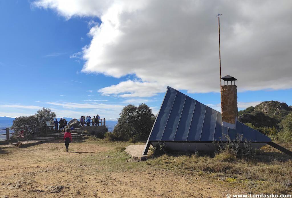 Refugio Balcón de la Rioja en Montes Obarenes