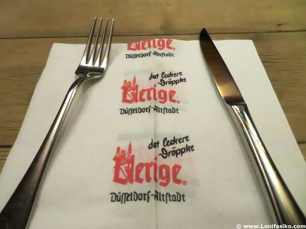 Restaurantes en Düsseldorf: Cervecería Uerige