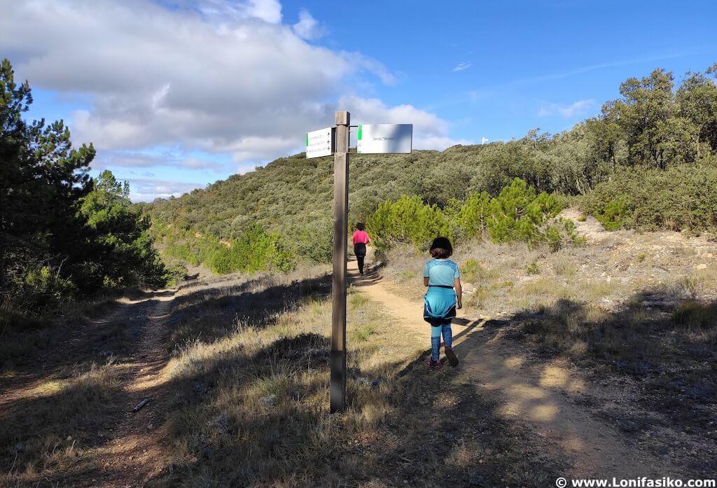 Rutas en los Montes Obarenes