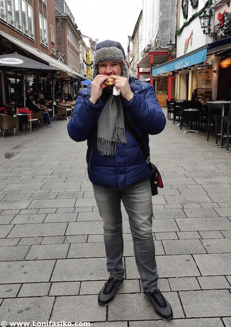 Streetfood en Düsseldorf Alemania