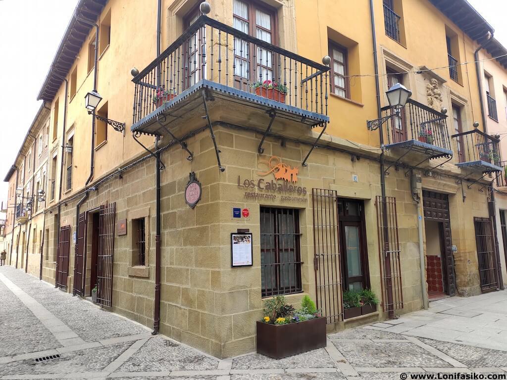 Restaurante Los Caballeros en Santo Domingo de La Calzada cómo llegar