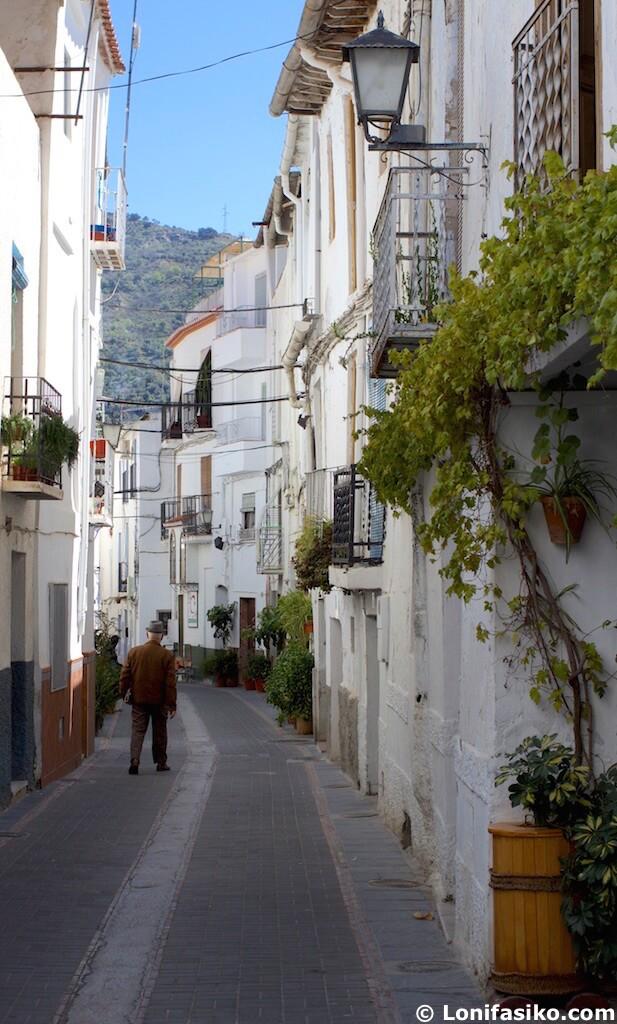 barrio del hondillo Lanjarón Alpujarra Granadina