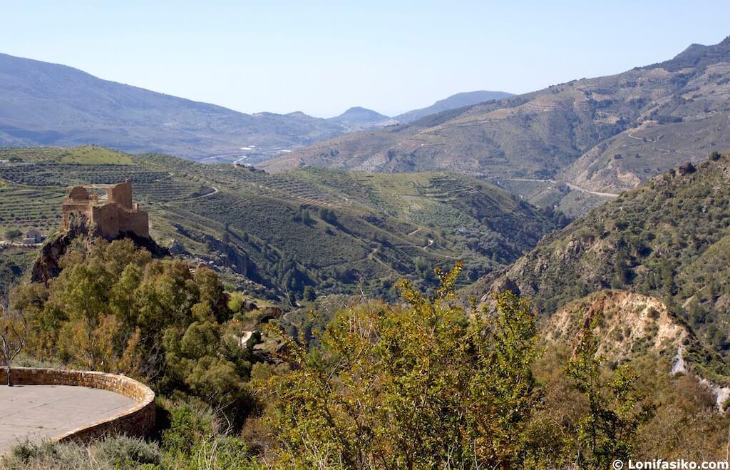 Castillo de Lanjarón alpujarra granadina