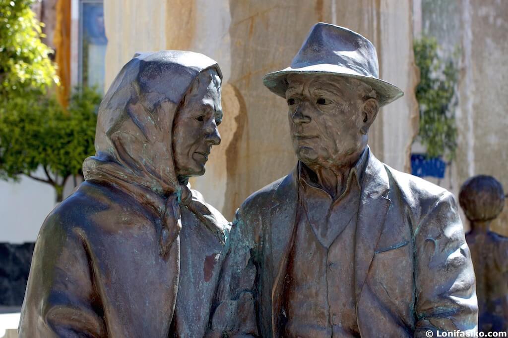 escultura Lanjarón Alpujarra Granadina