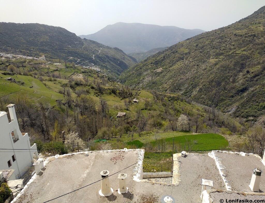 Barranco de Poqueira Alpujarra Granada