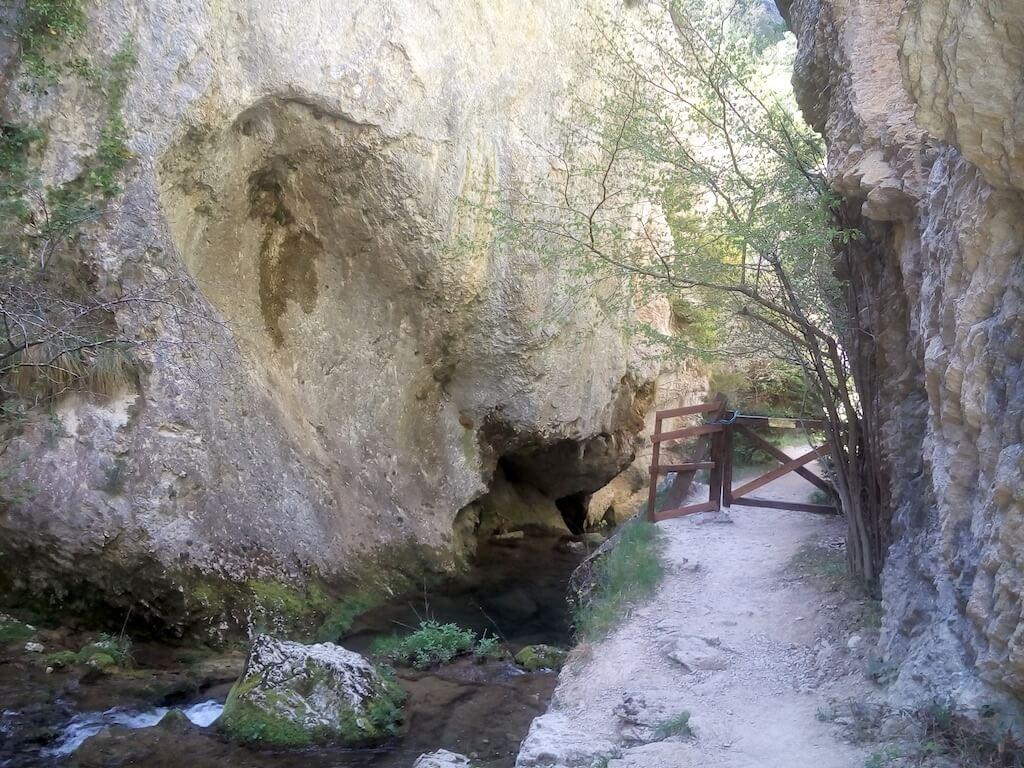 Desfiladero río Purón Valderejo