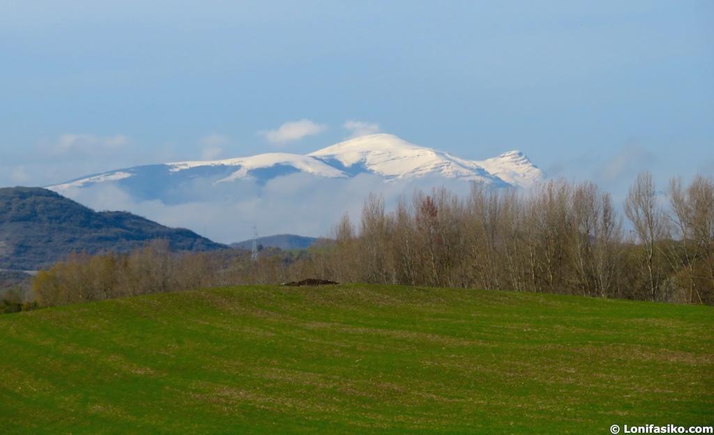 Gorbea desde pantano Vitoria Gasteiz