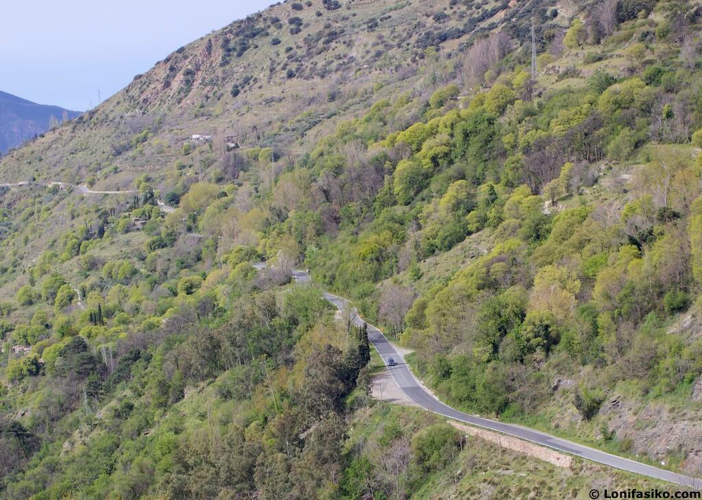 Ruta en coche por Alpujarra Granada