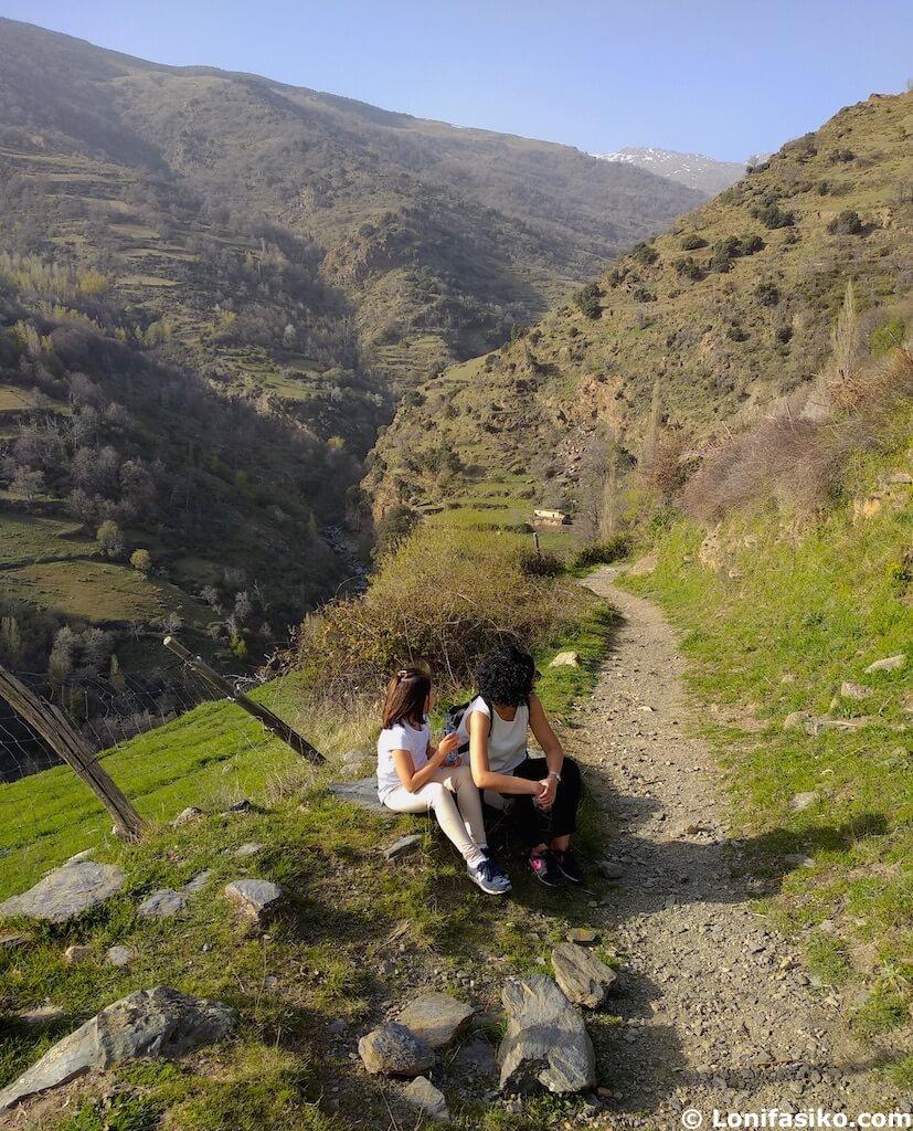 Sendero Sulayr GR 240 Sierra Nevada