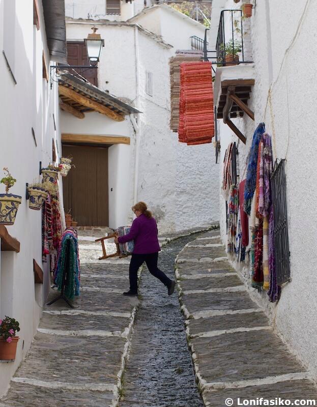 Tiendas artesanía Pampaneira Alpujarra Granada