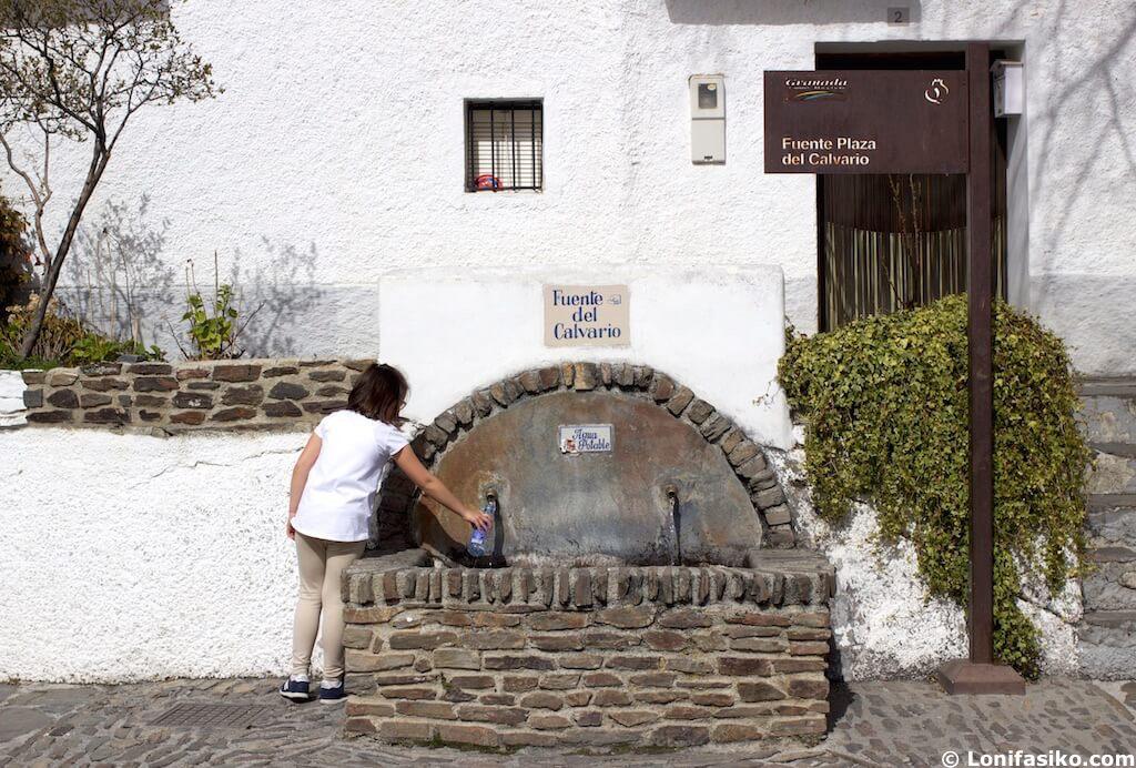 Visitar Capileira con niños Alpujarra