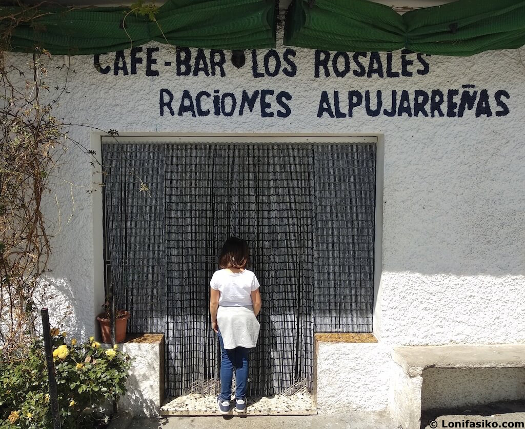 bar de tapas Trevélez Granada