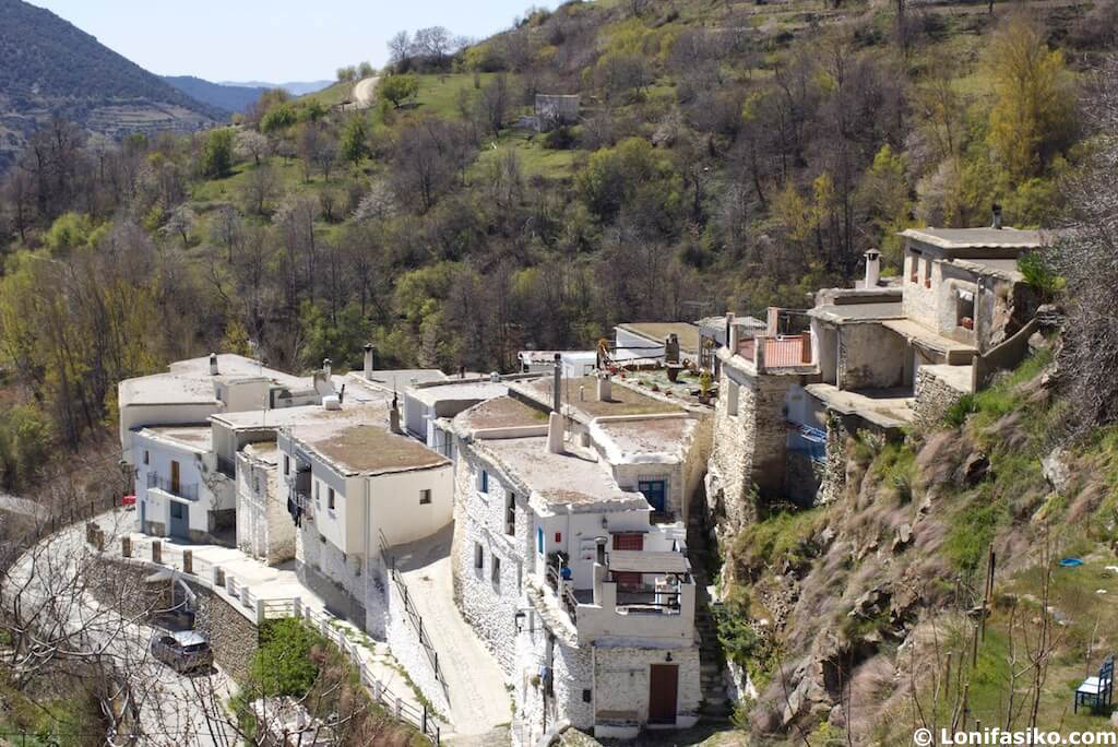 barrio alto Trevélez Alpujarra Granada