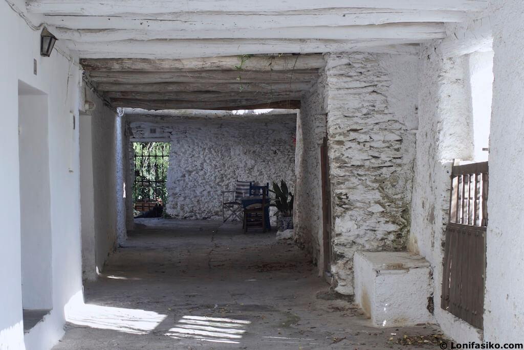 Bubión arquitectura alpujarra granadina