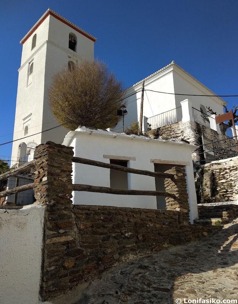 iglesia Bubión Alpujarra Granada