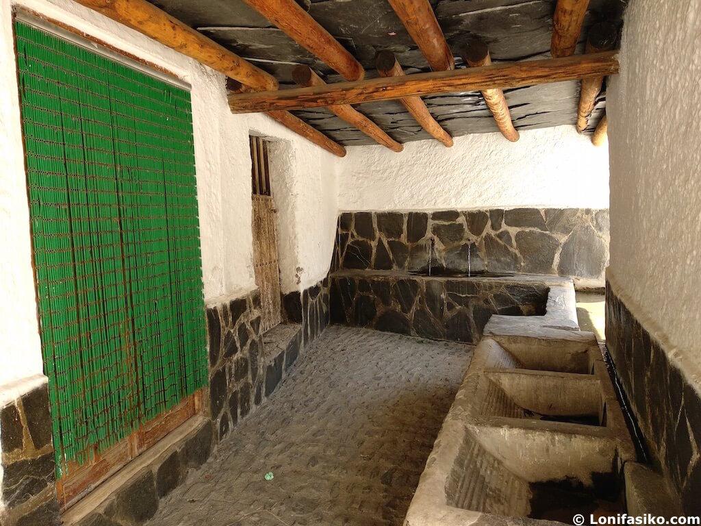 Lavadero Trevélez Granada