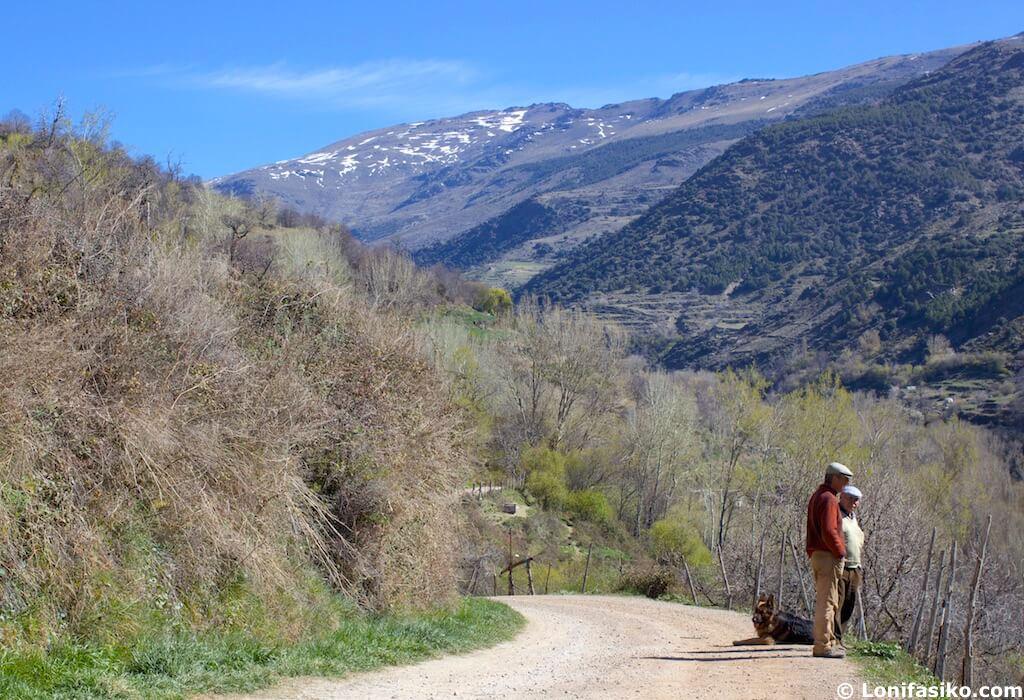 Paisajes gentes Trevélez Alpujarra Granada