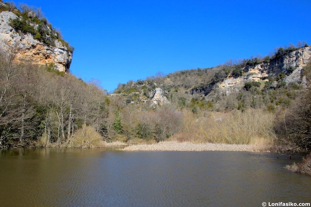 rio izki parque natural presa aranbaltza