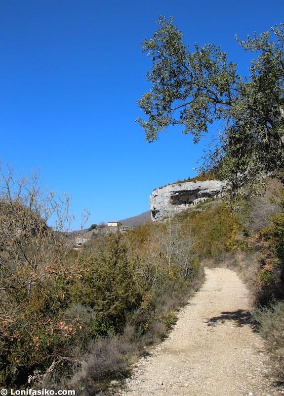 ruta corres bujanda parque natural izki