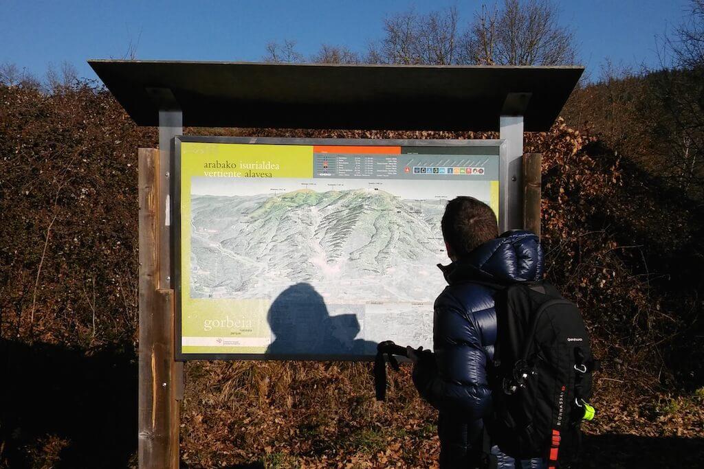 rutas parque natural gorbeia alava