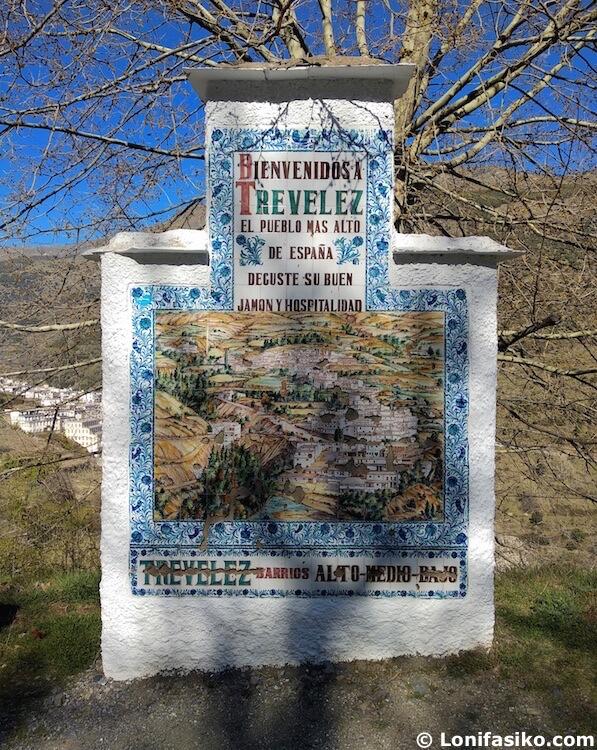 Trevélez Granada pueblos más altos de España