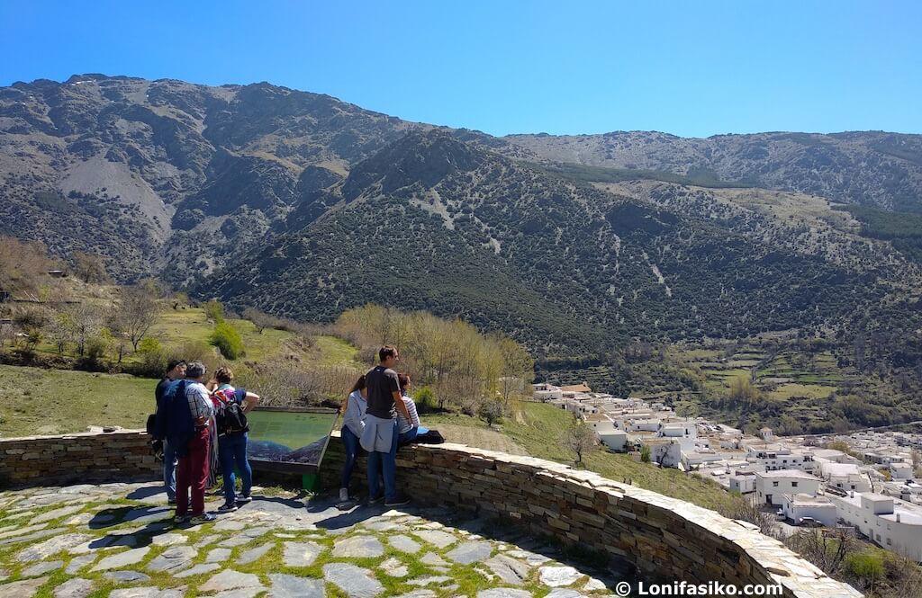 Turismo en Trevélez Granada mirador