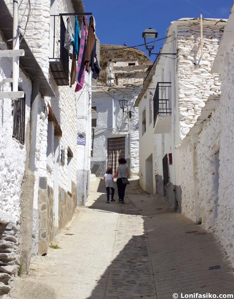 Visitar Trevélez con niños en La Alpujarra Granada